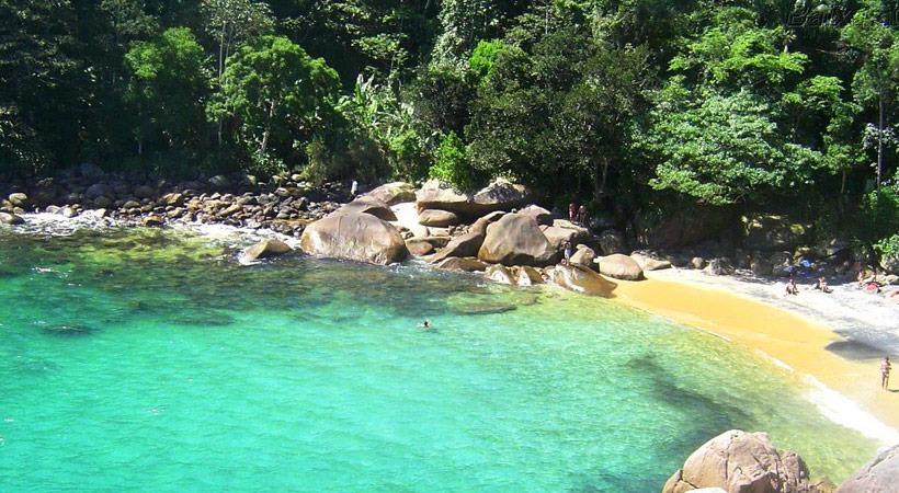 Praia do Cachadaço - Ilha Grande