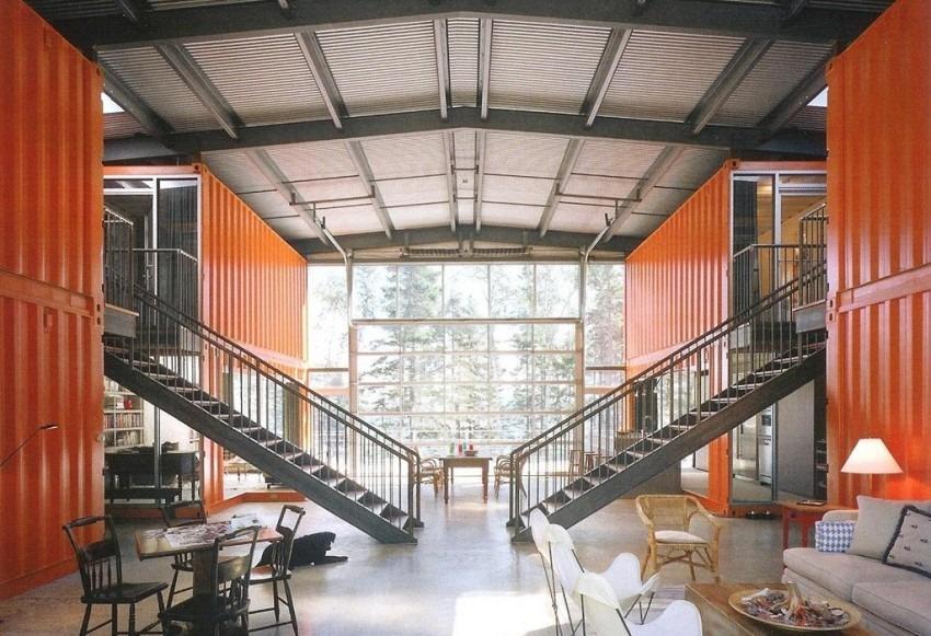 casa de container alto padrão