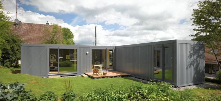 Casas de Container no Campo