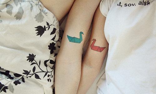 Tatuagem Casal
