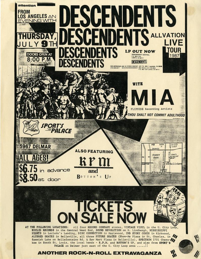 descendents-cartaz-show
