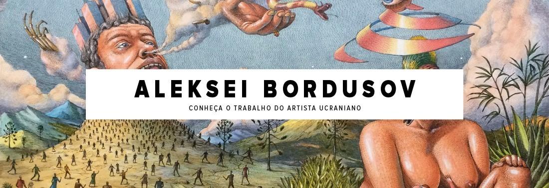 Ciência, Religião e Mitologia. Confira as obras do artista Aleksei Bordusov