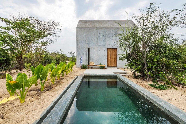 piscina casa isolada