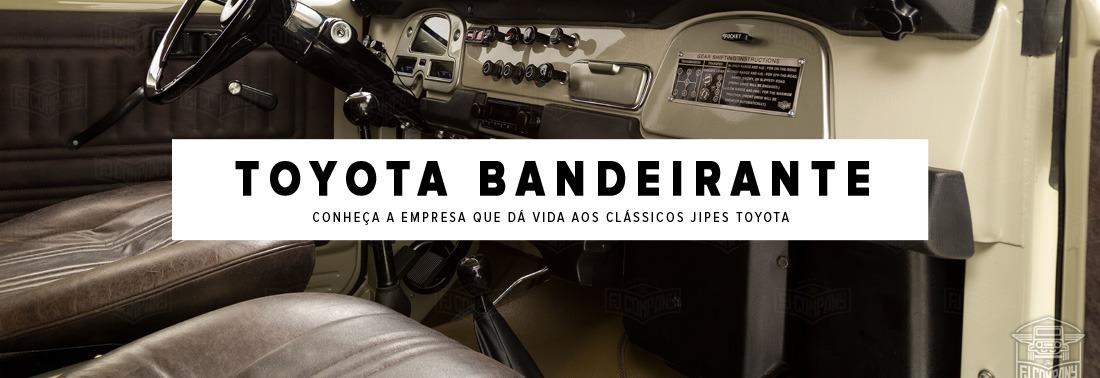 Toyota Bandeirante! Conheça a empresa que reforma e dá vida para este carro clássico!