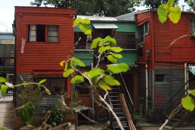 casas do caminito em Buenos Aires