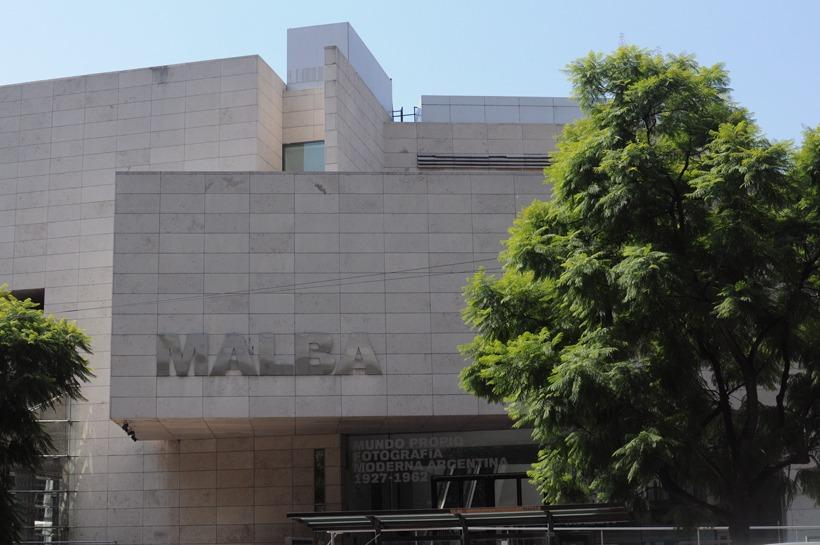 MALBA em Buenos Aires visto de frente