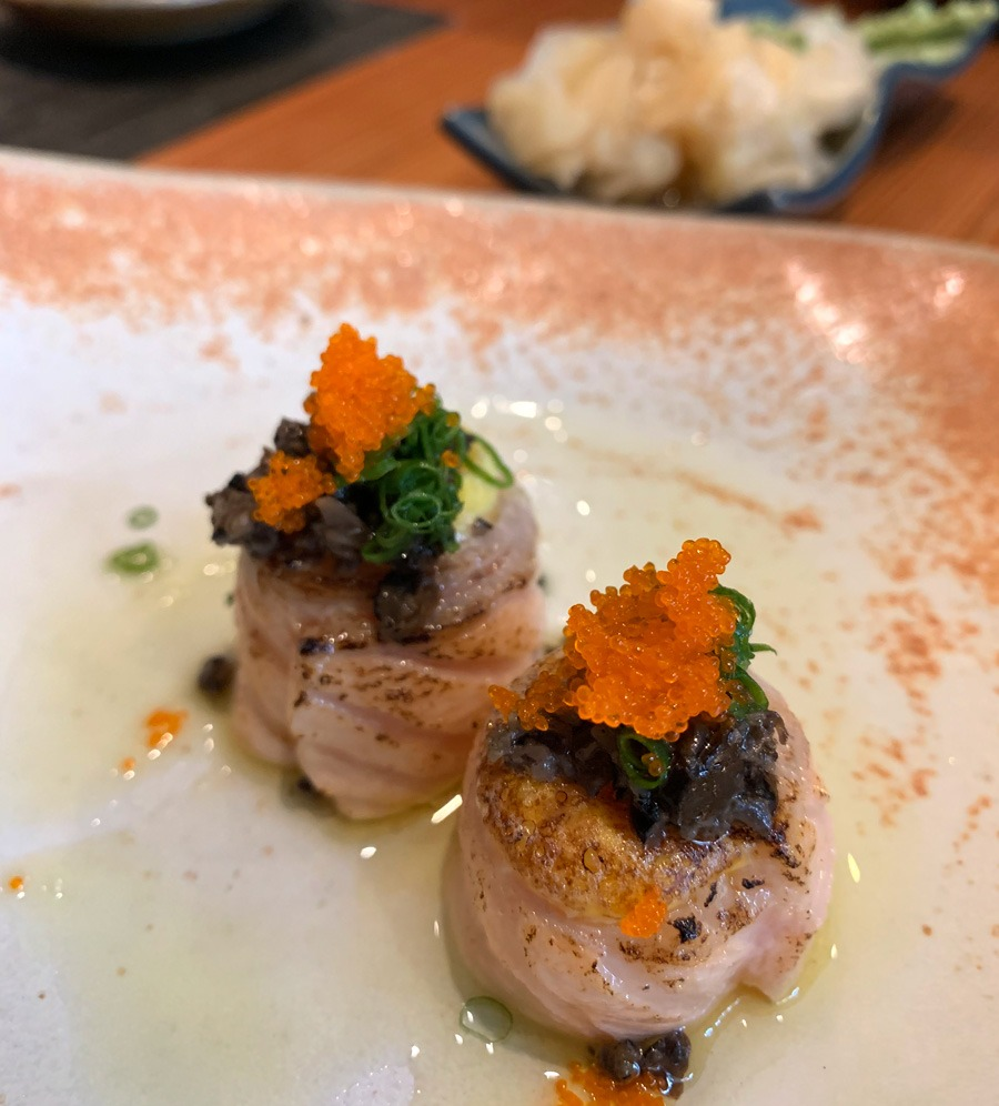 Jo de Ovas com Ovo de Codorna do Nakka Sushi