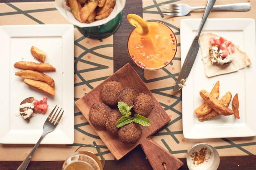 aperitivo restaurante falafada