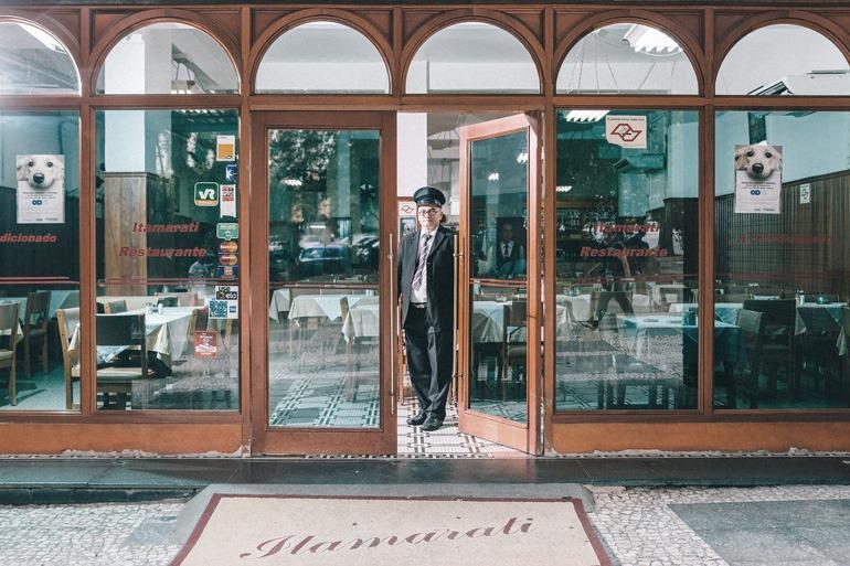 Restaurante Itamarati no largo São Francisco
