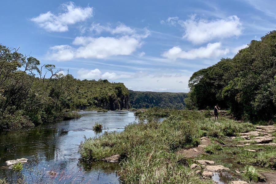 Canyon Fortaleza - Trilha da cachoeira do Tigre Preto