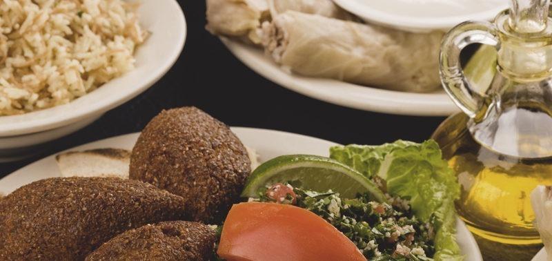 Restaurante Almanara Centro. Foto do rodízio.