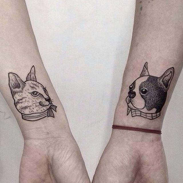 tatuagem de casal moderna 3