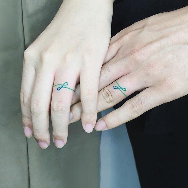 tatuagem de casal moderna 6