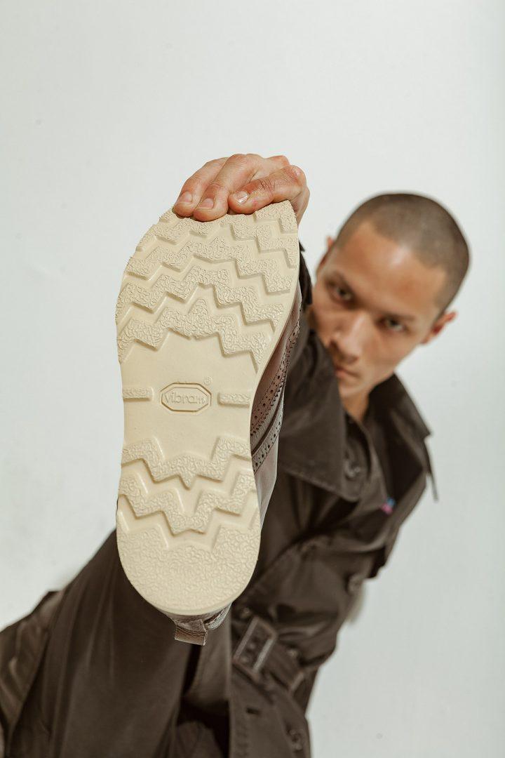 Solado dos sapatos masculinos Élie